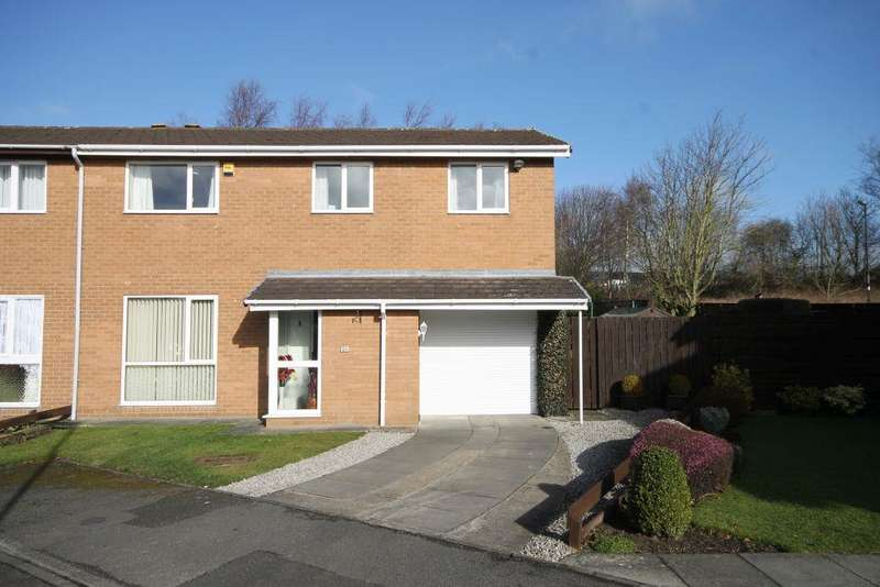 4 Bedrooms Semi Detached House for sale in Burnbridge, Seaton Burn, Newcastle Upon Tyne