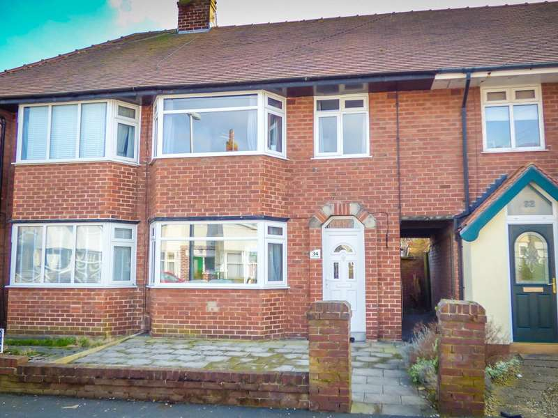 3 Bedrooms Terraced House for sale in Baines Avenue, Highfurlong, Blackpool
