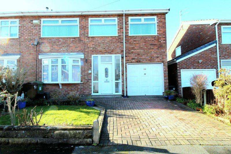 4 Bedrooms Semi Detached House for sale in Monmouth Drive, Liverpool