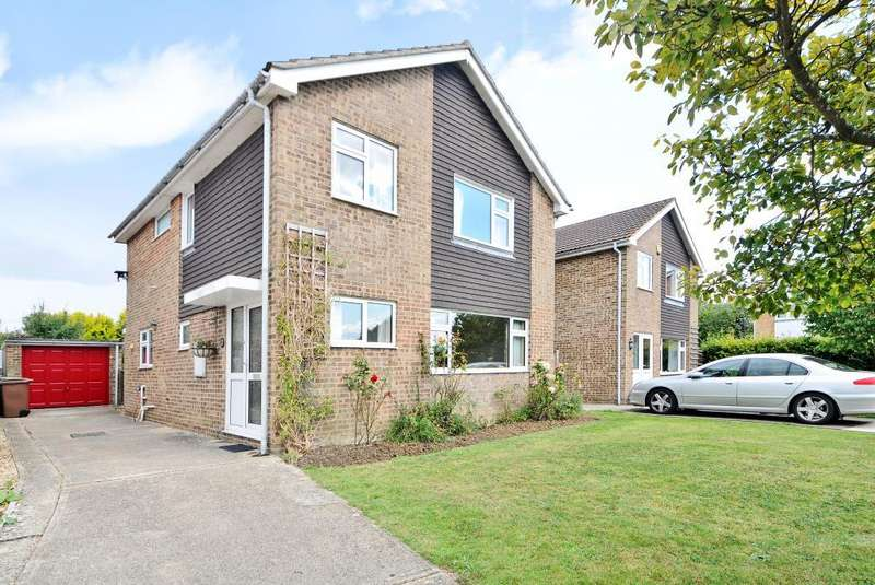 4 Bedrooms Detached House for sale in Farmoor, West Oxford, OX2