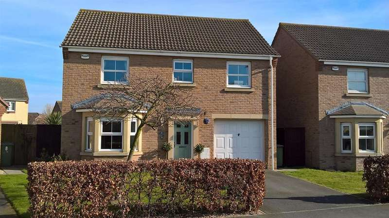 4 Bedrooms Detached House for sale in Caspian Crescent, Scartho Top, Scartho
