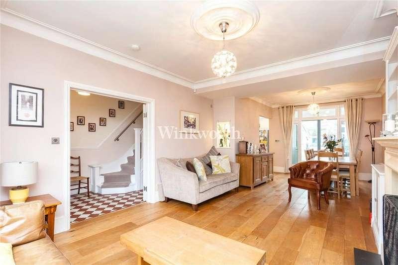 4 Bedrooms Terraced House for sale in Birch Avenue, London, N13