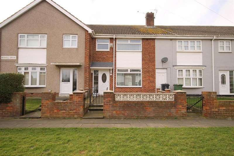 2 Bedrooms Terraced House for sale in Boswell Grove, Rift House, Hartlepool