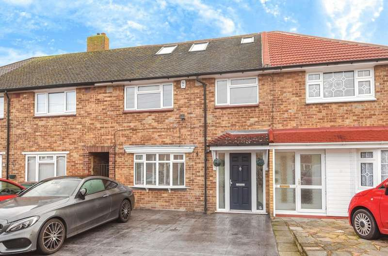 4 Bedrooms Terraced House for sale in Arundel Drive Orpington BR6