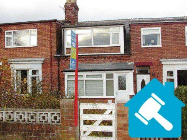 2 Bedrooms Terraced House for sale in SAINT JOHNS TERRACE, SEAHAM, SEAHAM DISTRICT
