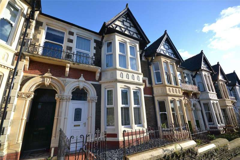 4 Bedrooms Terraced House for sale in Ty Draw Place, Roath Park, Cardiff, CF23