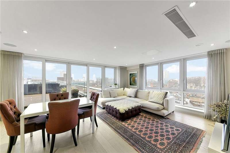 2 Bedrooms Penthouse Flat for sale in Friend Street, Clerkenwell, London, EC1V