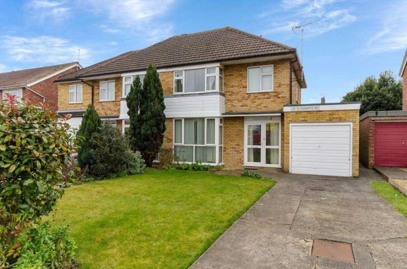 3 Bedrooms Semi Detached House for sale in St. Gilberts Road, Bourne, PE10