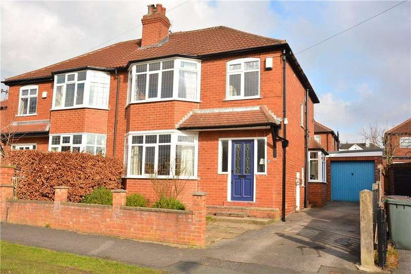 3 Bedrooms Semi Detached House for sale in Moorland Crescent, Leeds, West Yorkshire