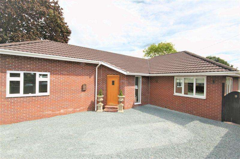3 Bedrooms Bungalow for sale in Golf House Lane, Prees Heath