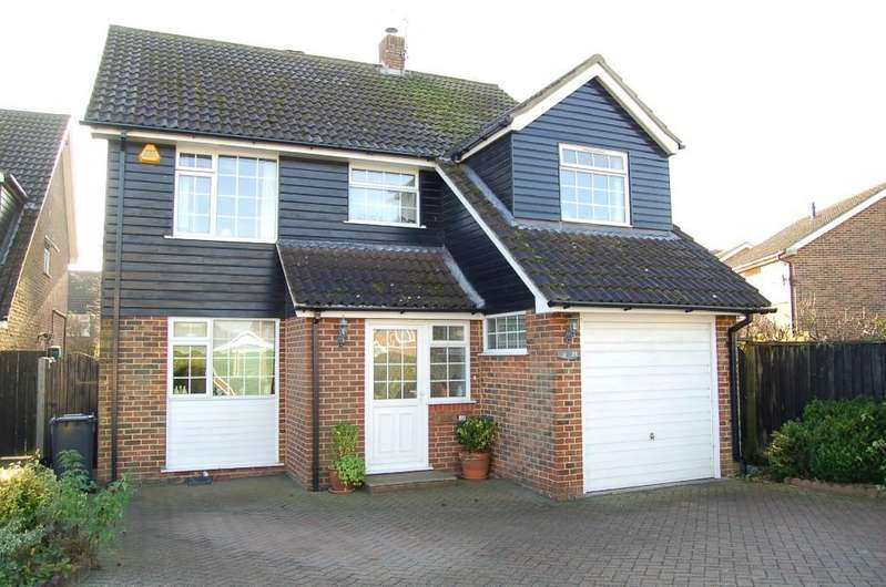4 Bedrooms Detached House for sale in Thorney Road, Capel St. Mary