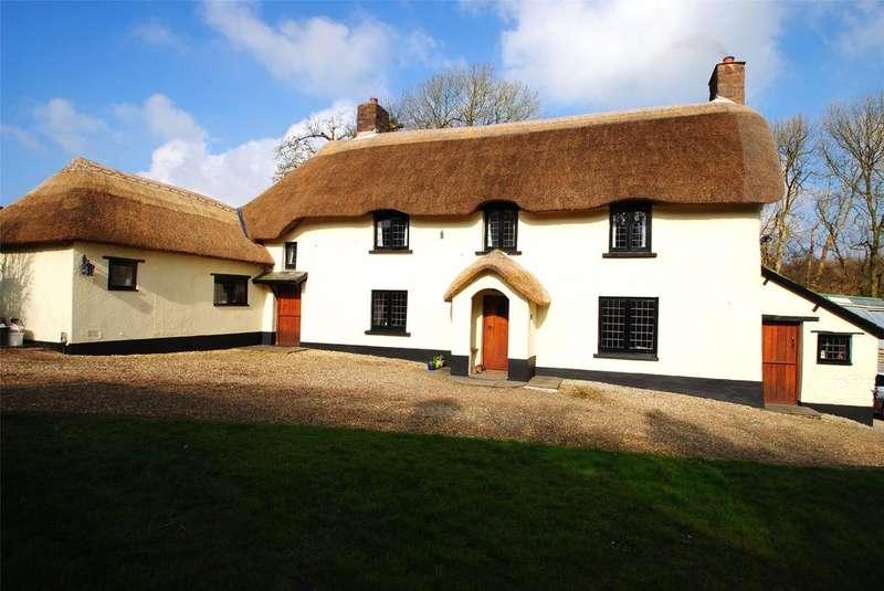 4 Bedrooms Detached House for sale in Huntshaw Mill, Torrington