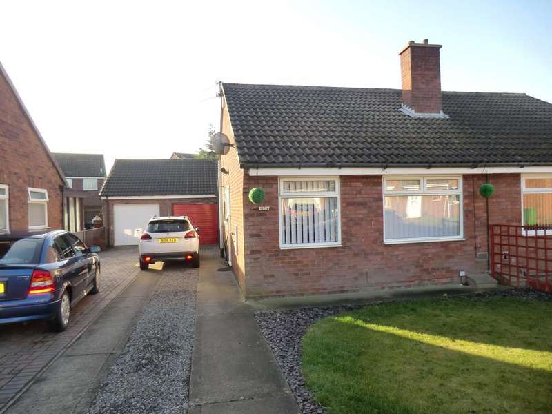 2 Bedrooms Semi Detached Bungalow for rent in Granville Drive, Chilton DL17