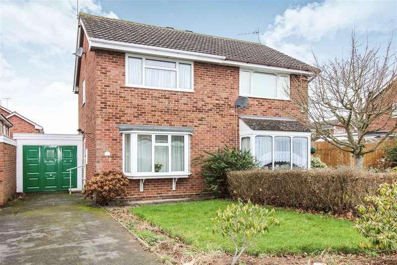 2 Bedrooms Semi Detached House for sale in Sheldon Grove, Warwick