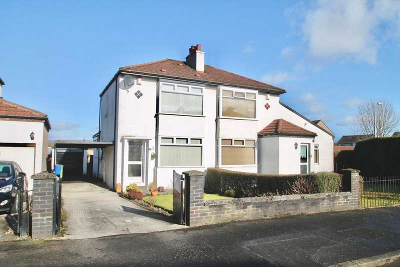 2 Bedrooms Semi Detached House for sale in Beaufort Gardens, Bishopbriggs, Glasgow G64