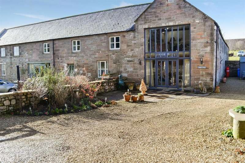 3 Bedrooms End Of Terrace House for sale in Woodedge, Hetton Hall, Chatton, ALNWICK, Northumberland