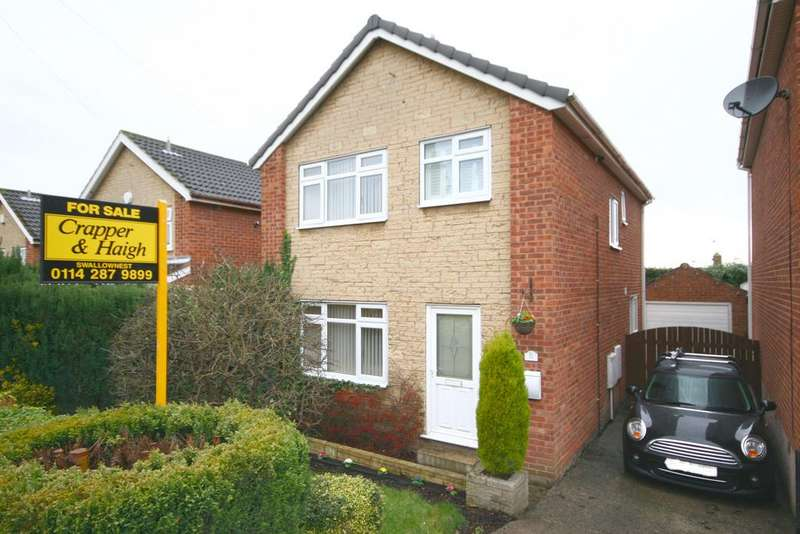 3 Bedrooms Detached House for sale in Thoresby Close, Aston, Sheffield S26