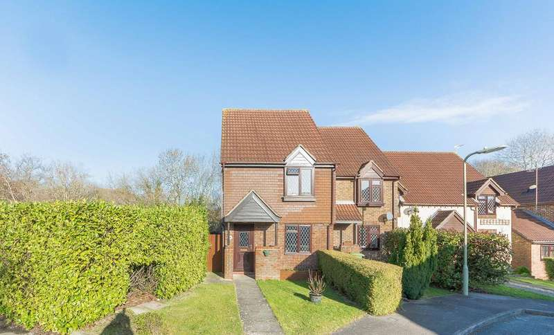 2 Bedrooms End Of Terrace House for sale in Sufflk Drive, Whiteey, Fareham, Hampshir PO15