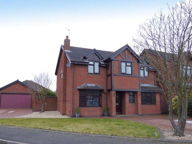 4 Bedrooms Detached House for sale in 20 Spring Meadow, Cheslyn Hay, WS6 7JW