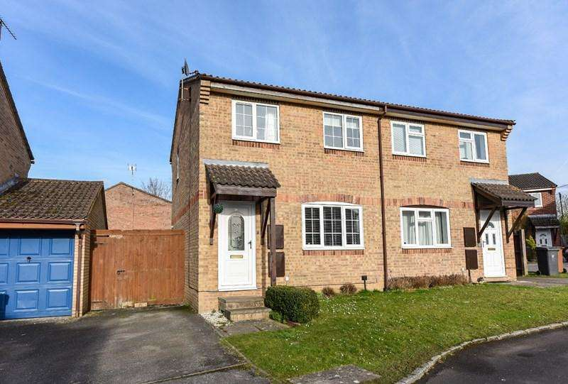 3 Bedrooms Semi Detached House for sale in Millstream Close, Andover