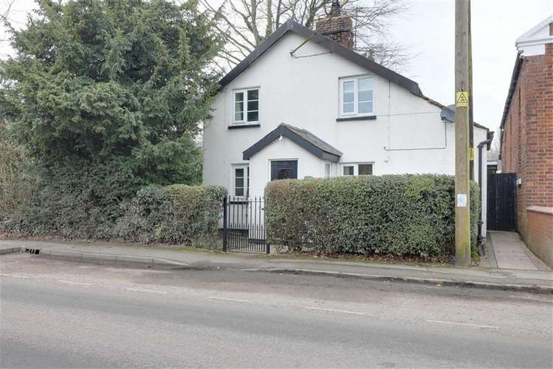 2 Bedrooms Cottage House for sale in Crewe Road, Winterley, Sandbach