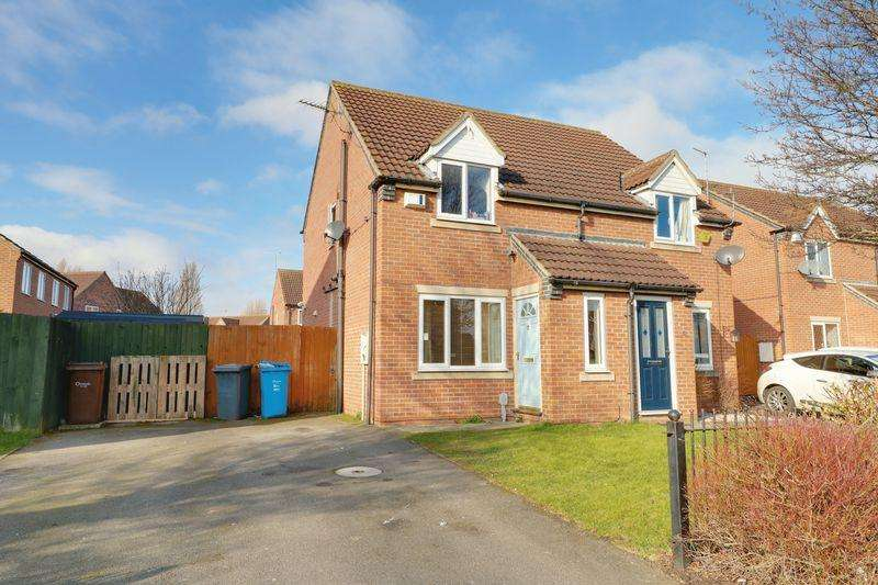 2 Bedrooms Semi Detached House for rent in Priory Grove, Askew Avenue, Hull