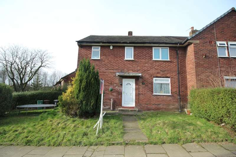 3 Bedrooms Semi Detached House for sale in Topping Fold Road, Bury, BL9