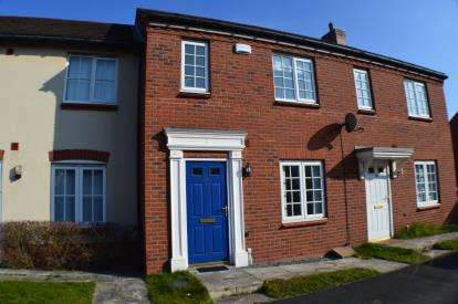 3 Bedrooms Terraced House for sale in Rogerson Road, Fradley, Nr Lichfield, Staffordshire