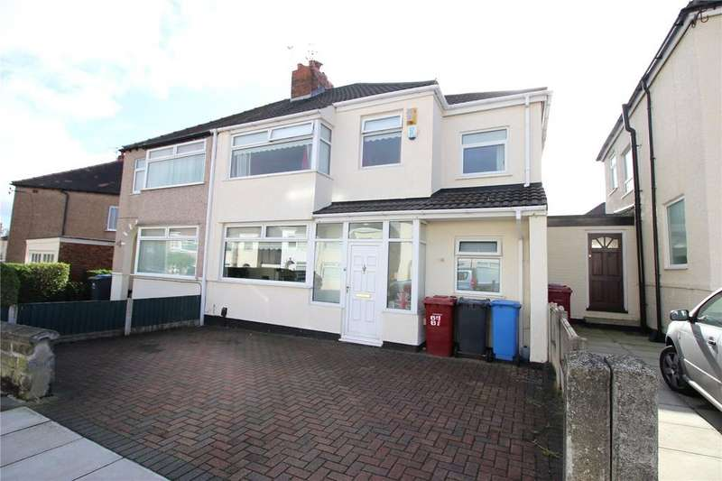 3 Bedrooms Semi Detached House for sale in Swanside Road, Liverpool, Merseyside, L14