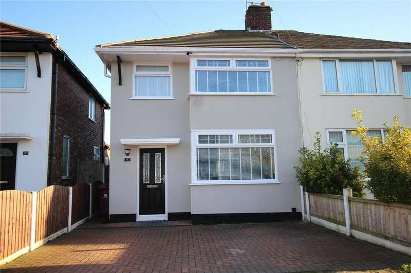 3 Bedrooms Semi Detached House for sale in Ashbourne Crescent, Liverpool, Merseyside, L36