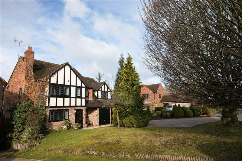5 Bedrooms Detached House for sale in Hither Green Lane, Redditch, Worcestershire, B98