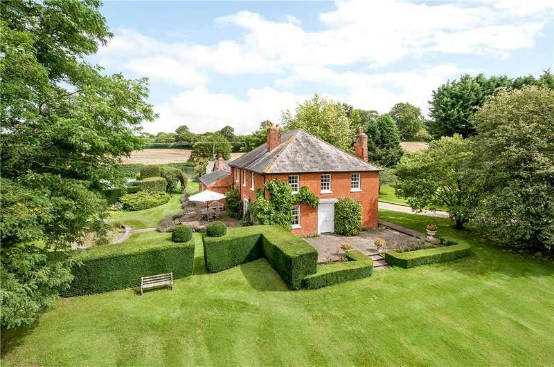 5 Bedrooms Detached House for sale in Nr. Longparish, Andover, Hampshire, SP11