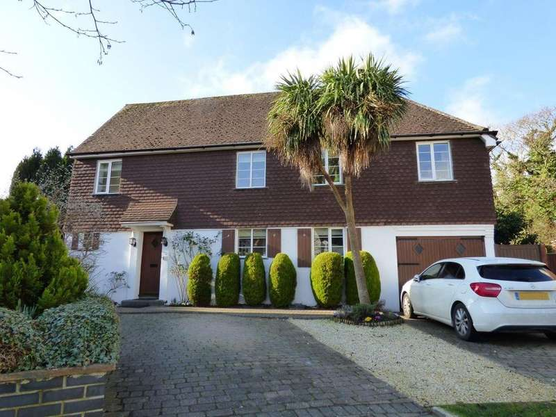 4 Bedrooms Detached House for sale in Wychwood Close, Craigweil Private Estate, Craigweil-on-Sea, Bognor Regis PO21