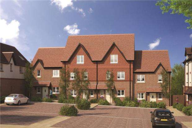 3 Bedrooms End Of Terrace House for sale in Woodhurst Park, Warfield, Berkshire