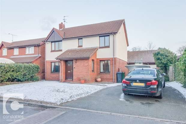 4 Bedrooms Detached House for sale in Foxglove Way, Little Neston, Neston, Cheshire