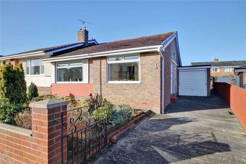 2 Bedrooms Semi Detached Bungalow for sale in Alderlea Close, Gilesgate, Durham, DH1