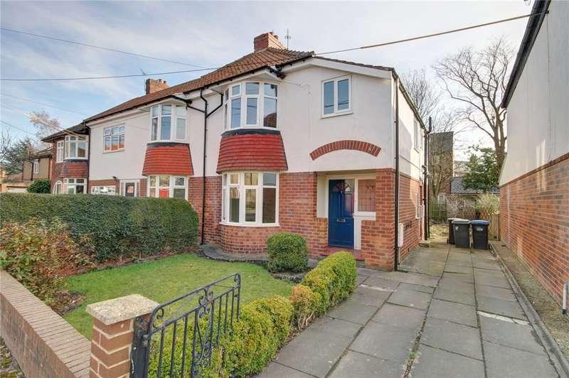 3 Bedrooms Semi Detached House for sale in Ellam Avenue, Nevilles Cross, Durham, DH1
