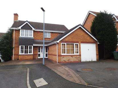 4 Bedrooms Detached House for sale in Huskison Close, Oldbury, West Midlands