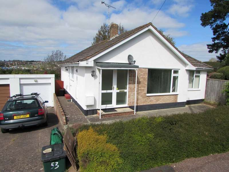 3 Bedrooms Detached Bungalow for sale in Chichester Close, Exmouth