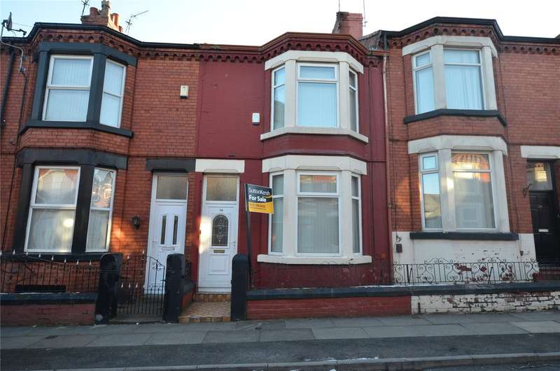 3 Bedrooms Terraced House for sale in Gloucester Road, Bootle, Merseyside, L20