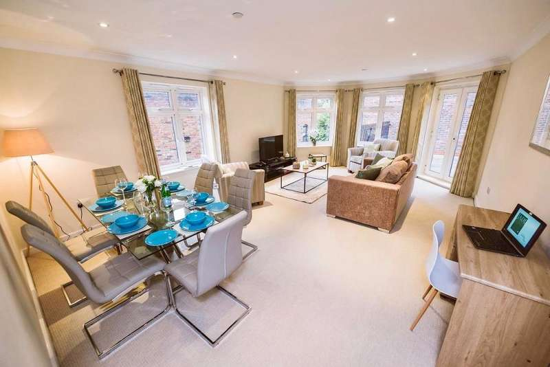 2 Bedrooms Serviced Apartments Flat for rent in **847 PER WEEK**, Royal Swan Quarter, Leret Way, Leatherhead, Surrey, KT22 7JL