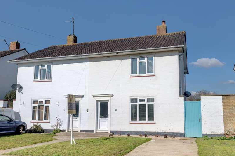 2 Bedrooms Semi Detached House for sale in Barrington Road, Goring by Sea, West Sussex, BN12 4RH