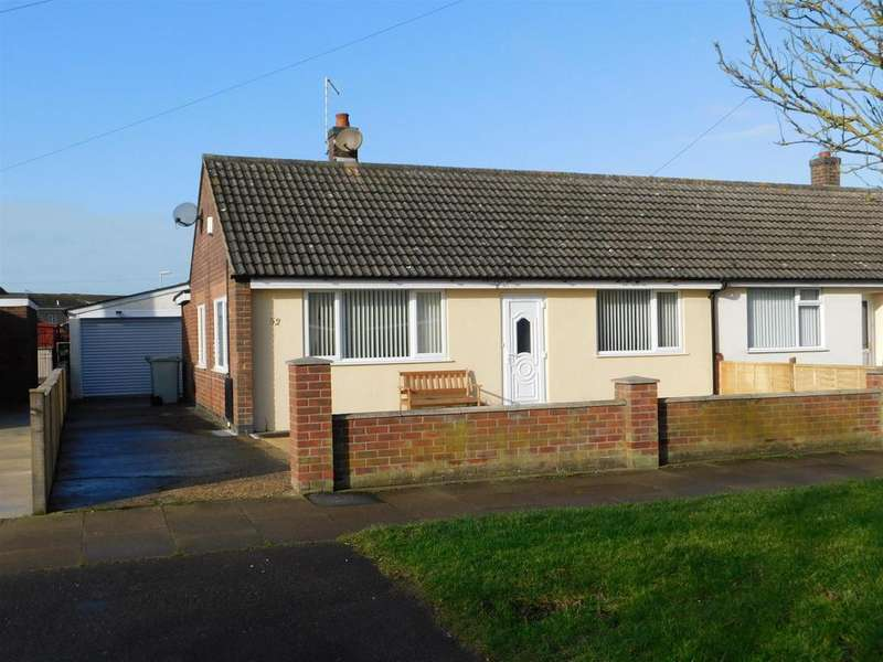 2 Bedrooms Semi Detached Bungalow for sale in Richmond Drive, Skegness, PE25 3PQ