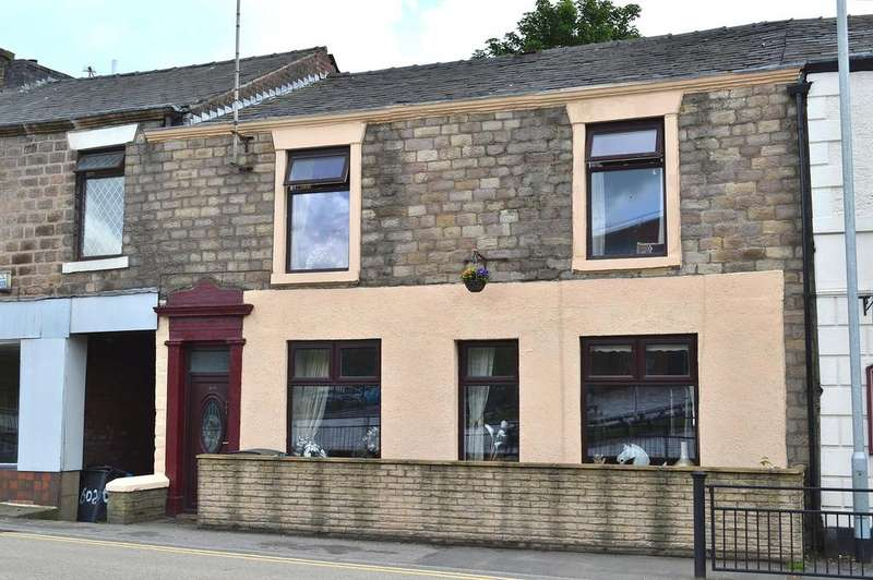 3 Bedrooms Terraced House for sale in Huddersfield Road, Waterhead, Oldham, OL4 3NN