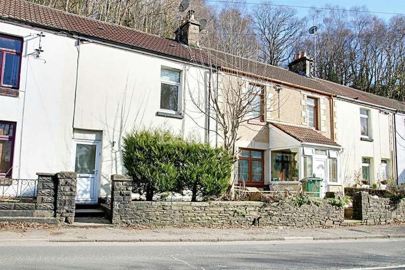 2 Bedrooms Terraced House for sale in Pentrebach Road, Pontypridd