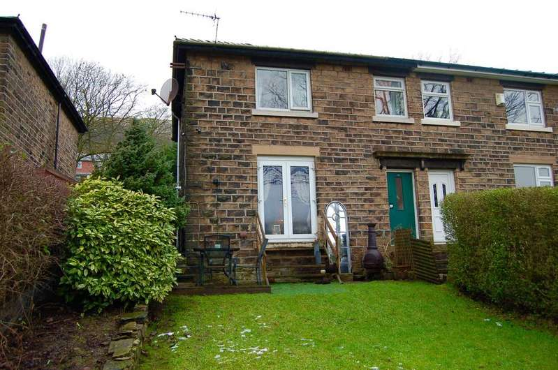 3 Bedrooms Semi Detached House for sale in Moor Crescent, Diggle, OL3 5NZ