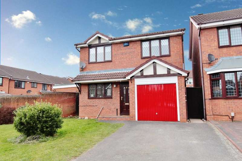3 Bedrooms Detached House for sale in Lindisfarne, Glascote