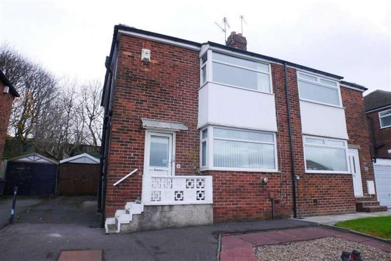 3 Bedrooms Semi Detached House for sale in Hillfoot Crescent, Pudsey, LS28