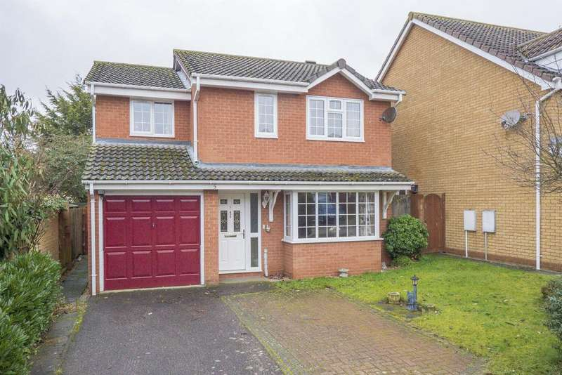 4 Bedrooms Detached House for sale in Jordayn Rise, Hadleigh, IP7 5SY