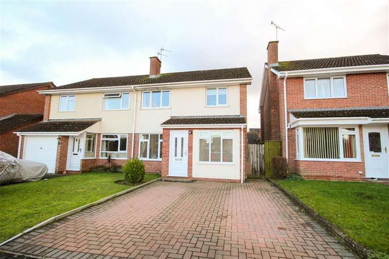 3 Bedrooms Semi Detached House for sale in Longs View, Charfield, South Gloucestershire